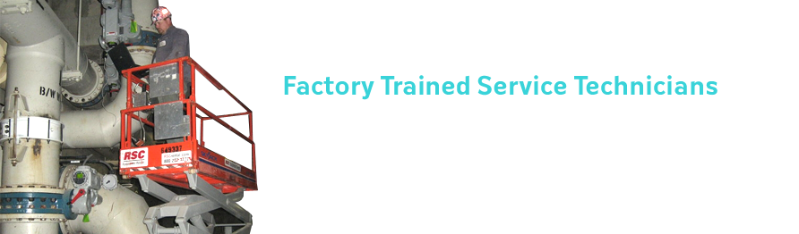 Factory Trained Service Technicians