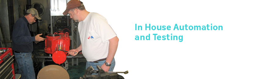 In House Automation and Testing